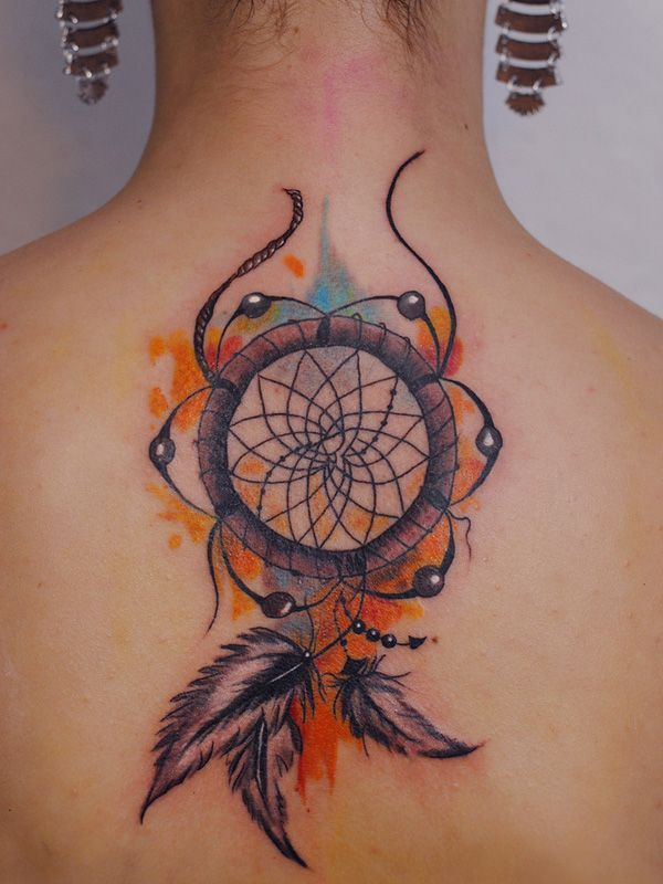 600x800 Best Dreamcatcher Tattoo Designs Amp Meanings