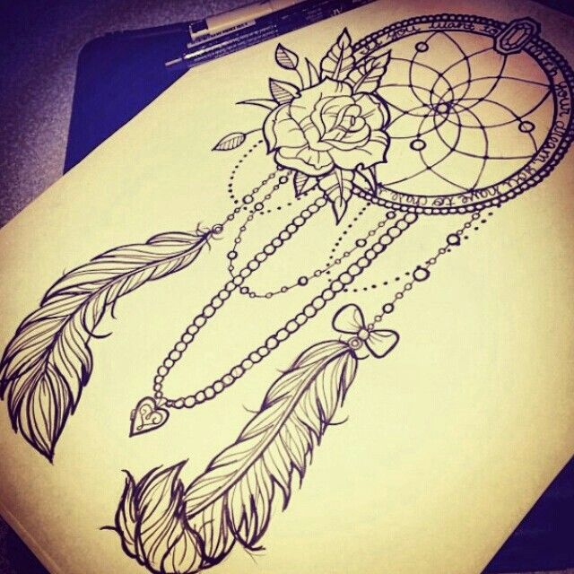 640x640 Dream Catcher Tattoos Best 25 Dreamcatcher Tattoo Thigh Ideas