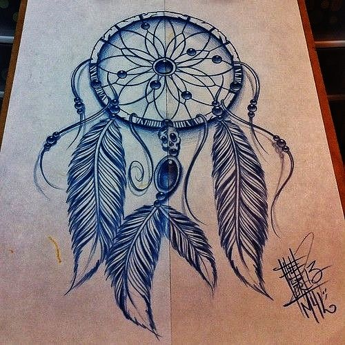 500x500 Dreamcatcher Tattoo Designs On Thigh Bkmmhld