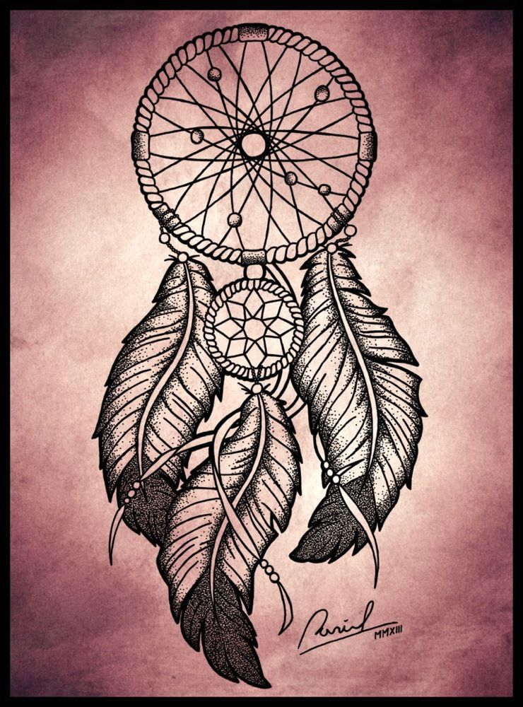 740x1000 Dreamcatcher Amazing Draw Dreamcatchers Tattoo