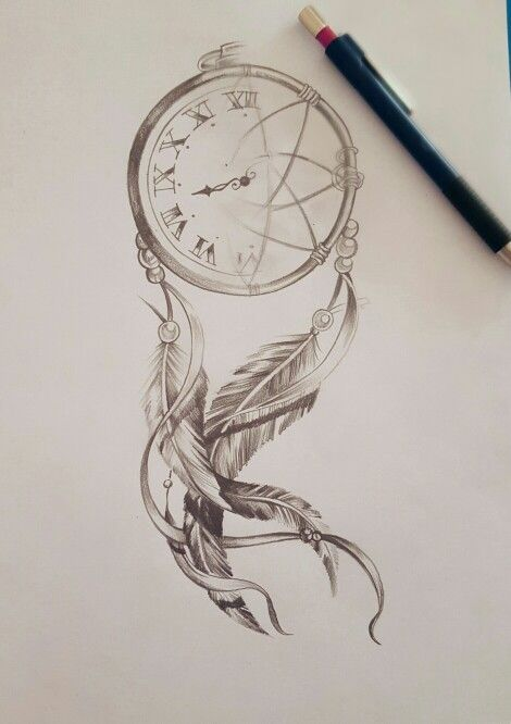 470x666 View Drawn Dreamcatcher Realistic Pencil Color 2 Dream Catcher