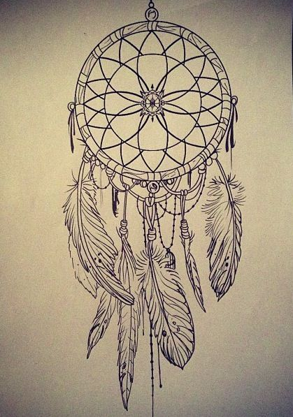 419x597 Dreamcatcher Tattoo, I Would Get This On The Side Of My Ribs