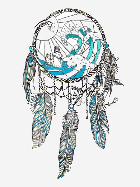 450x600 Huebucket Dream Catcher Art Print. Httpit.ly1kf0dct