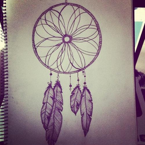 500x500 Dream Catcher Drawings Tumblr