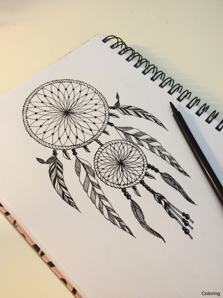768x1024 Maxresdefault Drawings Of Dreamcatchers Coloring How To Draw