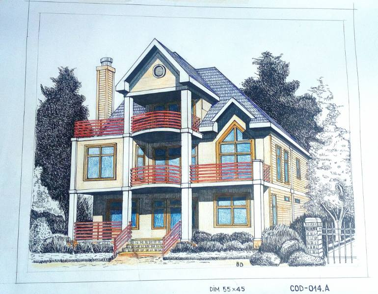 Dream Home Drawing at GetDrawings com | Free for personal