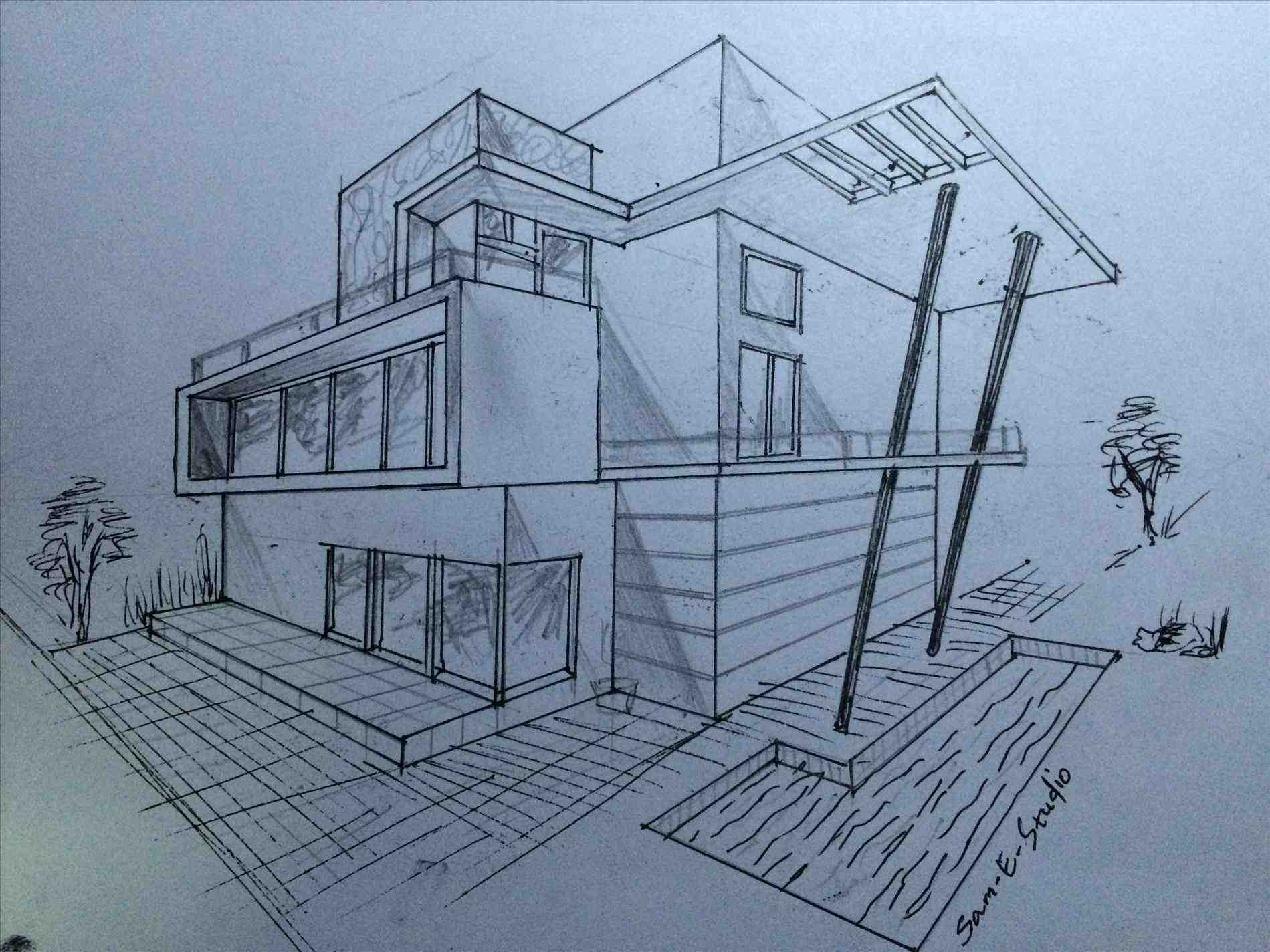 Dream House Drawing at GetDrawings.com | Free for personal use Dream ...