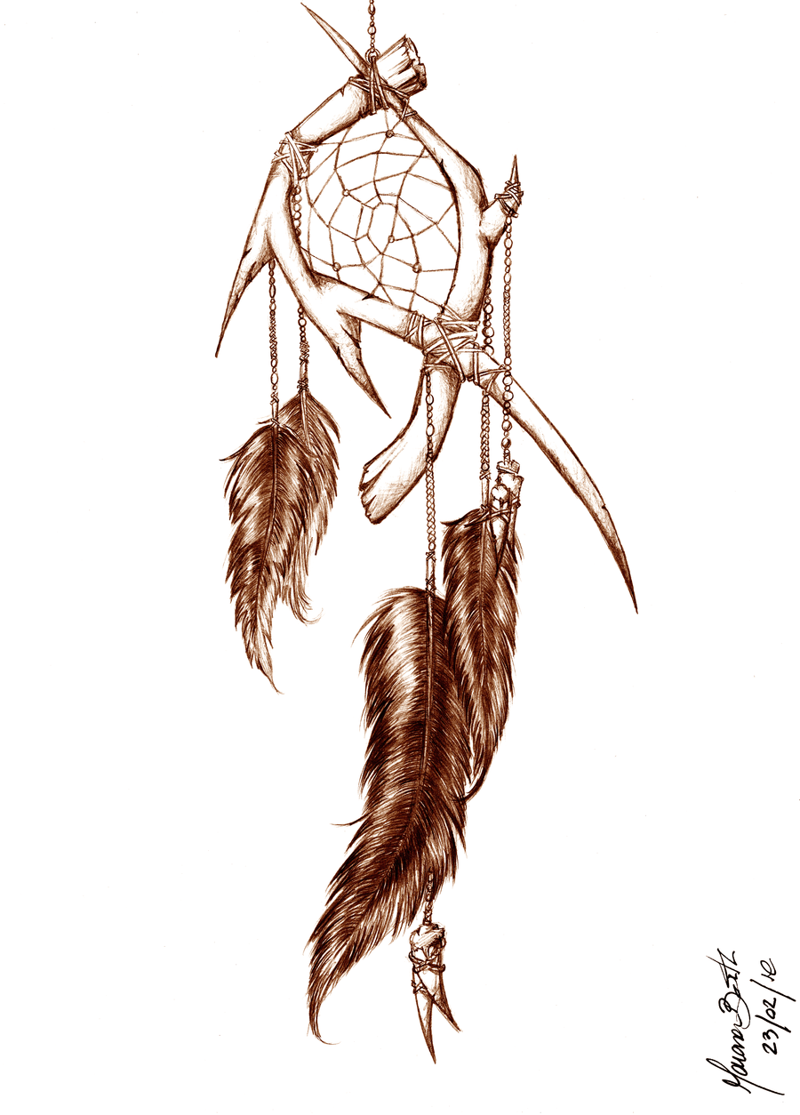 900x1254 Dreamcatcher By M0rrighan