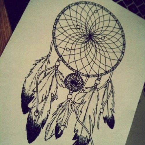 500x500 Photos Dream Catcher Drawing Pencil Easy,
