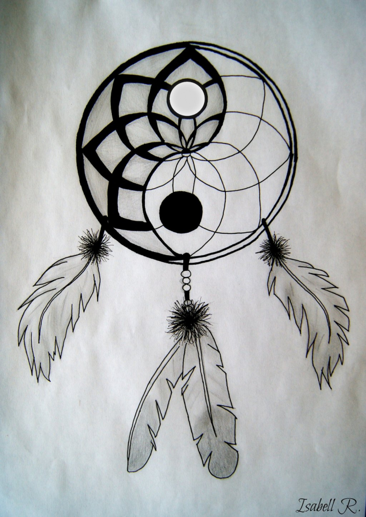 726x1024 Dreamcatcher Pencil Drawing Drawings Dream Catchers And Catcher