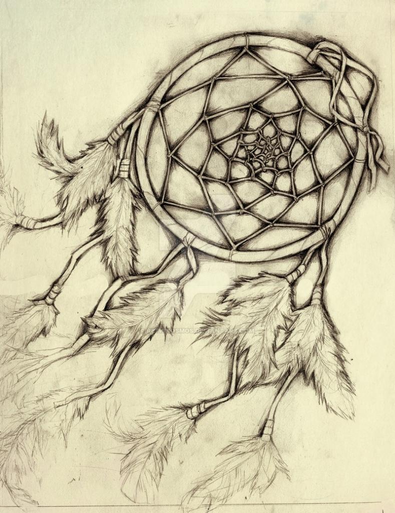 789x1024 Pencil Drawings Of Dreamcatchers Dreamcatcher Retkikosmos