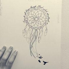236x236 36 Meaningful Dreamcatcher Tattoo Designs Dreamcatcher Tattoos