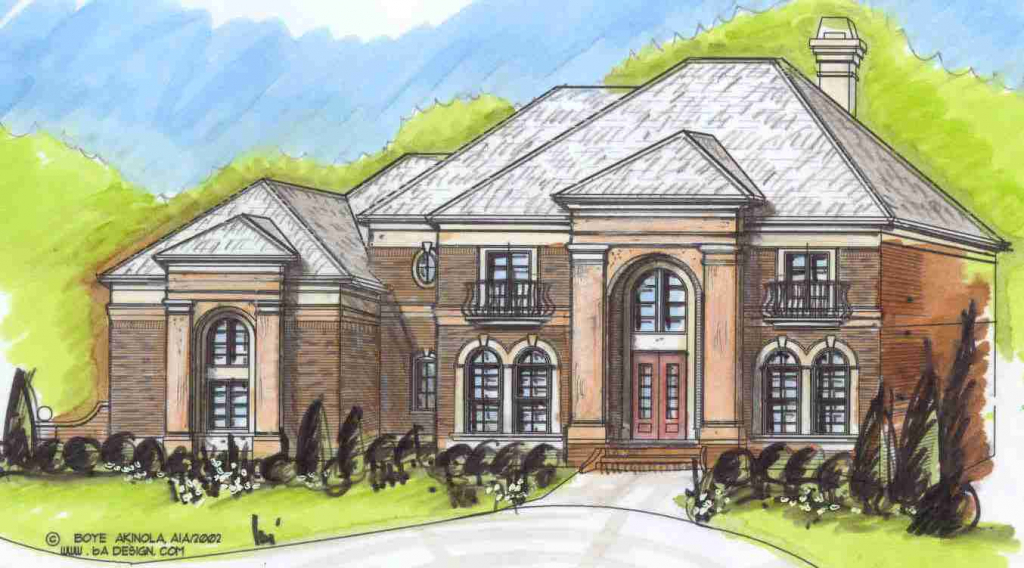 1024x568 Dream House Drawing For Children European LuxuryaEURRegina Plan Www
