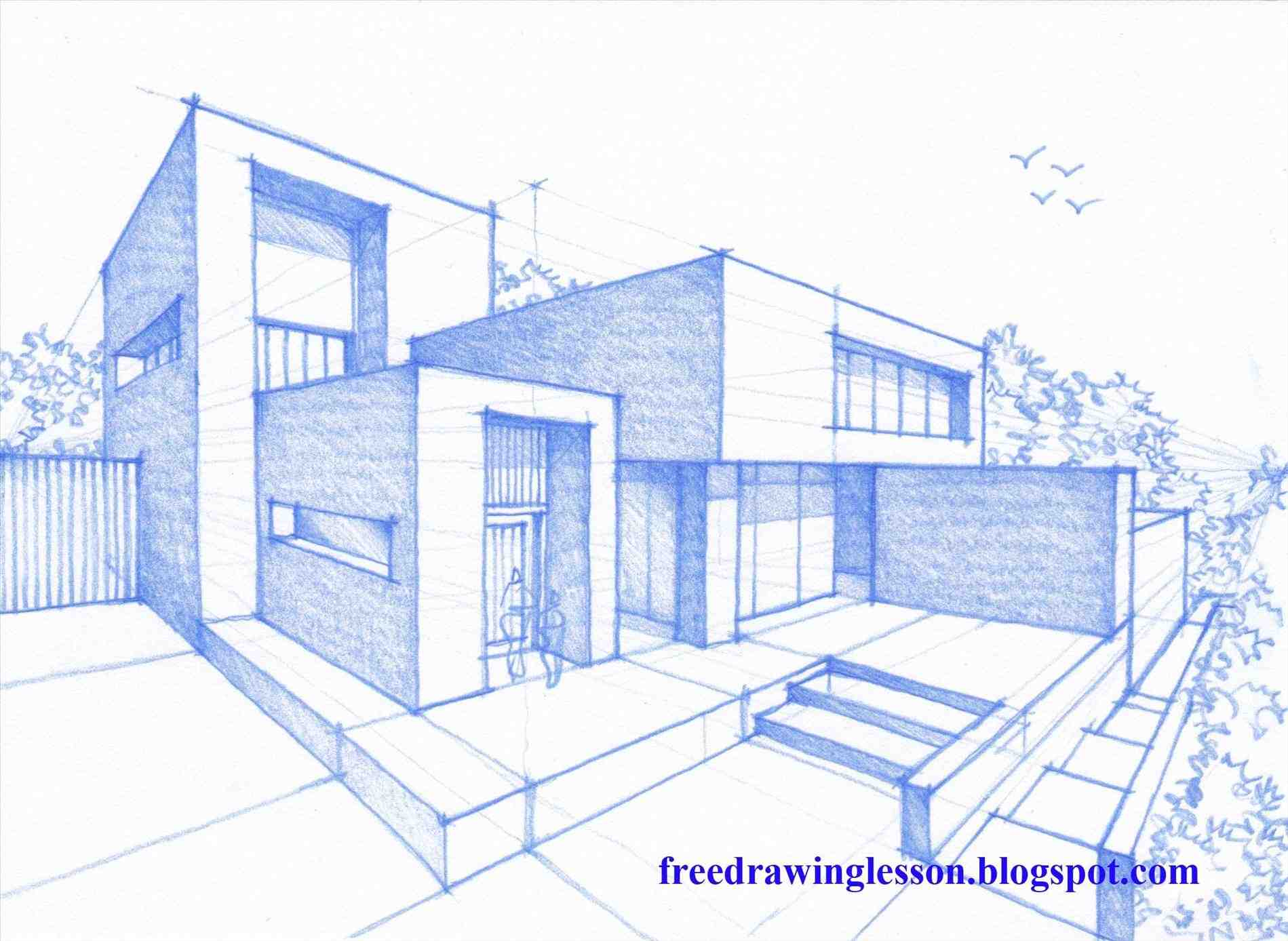 Dreamhouse drawing at free for personal for Draw your house