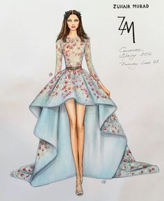 236x289 Fashion Illustration