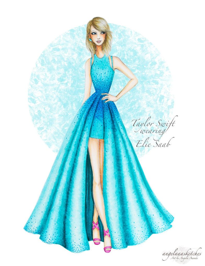 785x1017 Taylor Swift 57th Grammy Awards Updated By Angelaaasketches