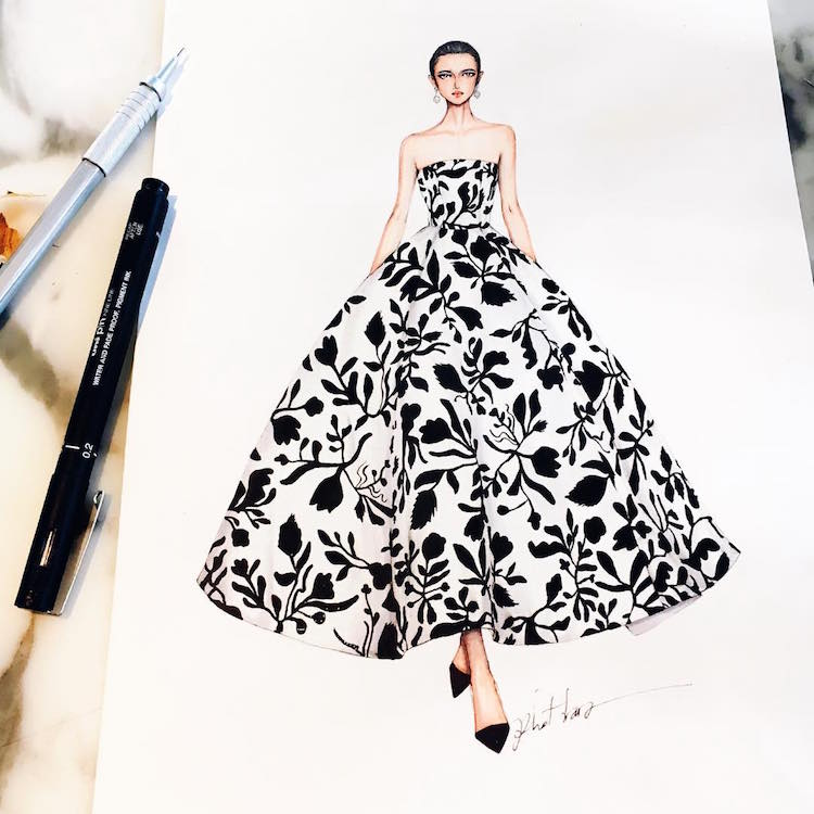 Dress Designs Drawing at GetDrawings.com | Free for personal use ...