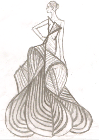 Dress Designs Drawing At GetDrawings.com | Free For Personal Use Dress Designs Drawing Of Your ...
