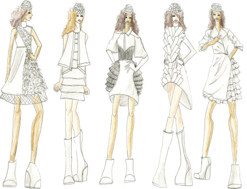 The Simplest Way to Draw Fashion Sketches - wikiHow 23