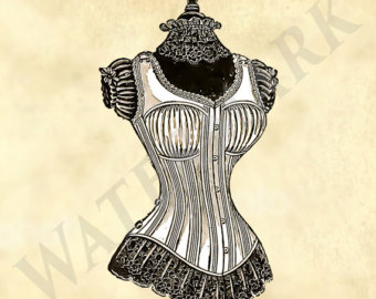 340x270 Dress Form Printable Etsy
