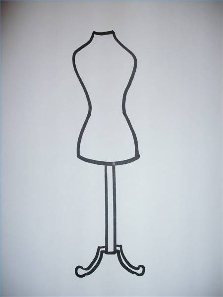 450x600 How To Draw A Dress Form Our Everyday Life