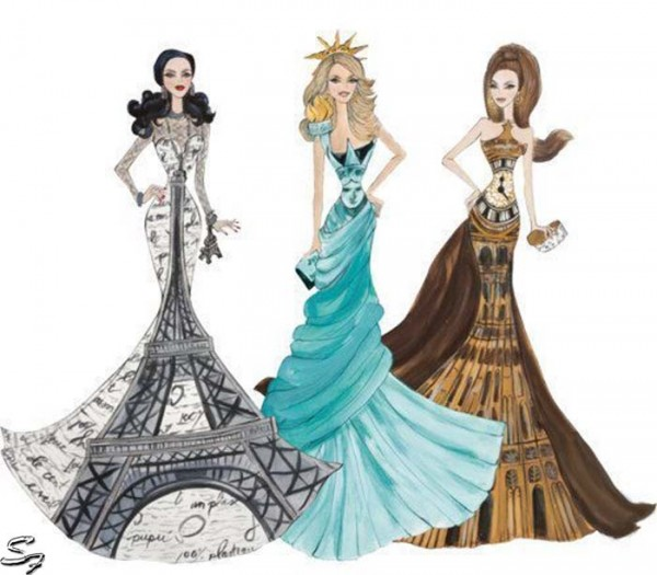 Dresses Drawing at GetDrawings.com | Free for personal use Dresses ...
