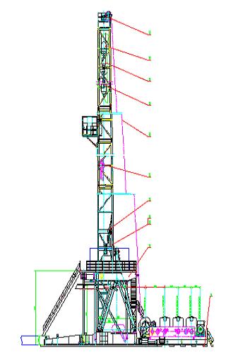 337x511 Zj704500ldb Drilling Rig