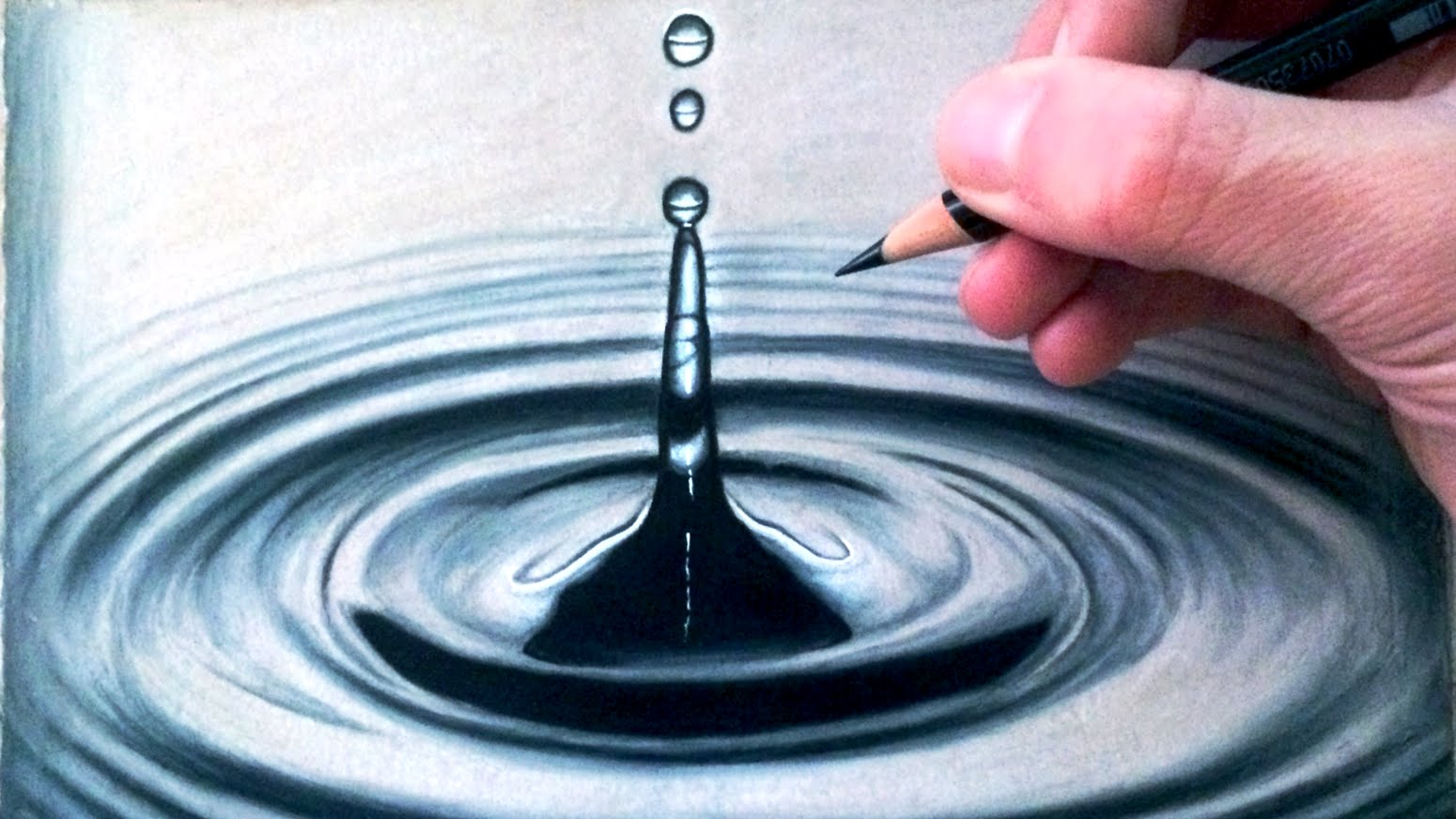 1550x872 Water Drop Splash Drawing Drawn Water Drop Water Splash