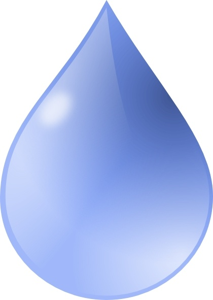 420x591 Water Drop Clip Art Free Vector In Open Office Drawing Svg ( Svg