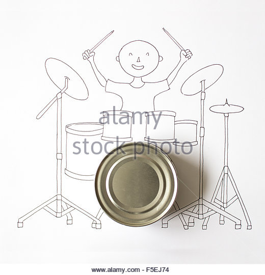 520x540 Drummer Playing Kit Stock Photos Amp Drummer Playing Kit Stock