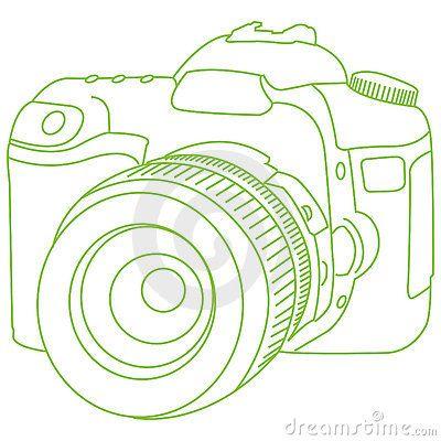 400x400 Dslr Camera, An Outline For A Tattoo Tattoos