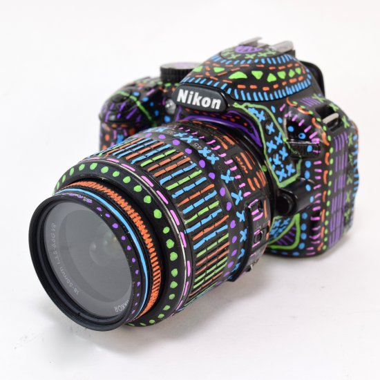 550x550 Doodled Dslr Camera Craftgawker