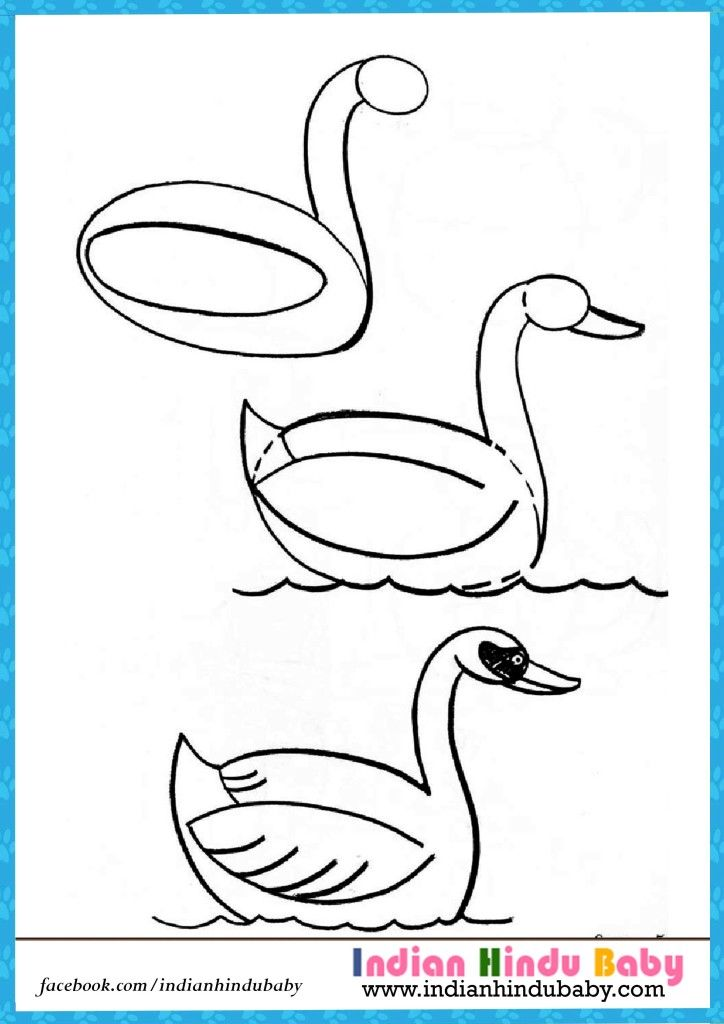 724x1024 Teach Your Kid To Draw Duck With Simple Drawing Tips
