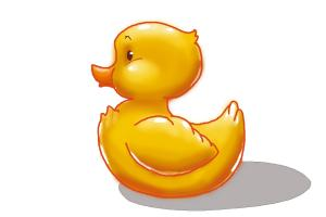 300x200 How To Draw A Rubber Duck