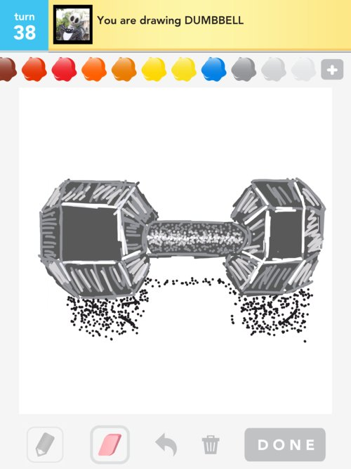 500x667 Dumbbell Drawings