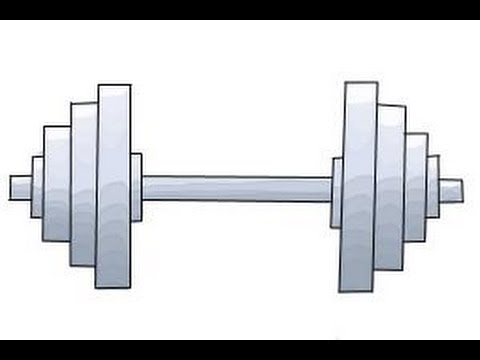 480x360 How To Draw A Dumbbell