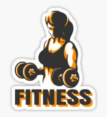210x230 Dumbbells Drawing Stickers Redbubble