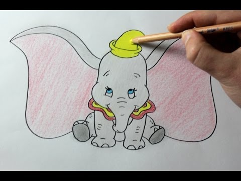 480x360 How To Draw Dumbo