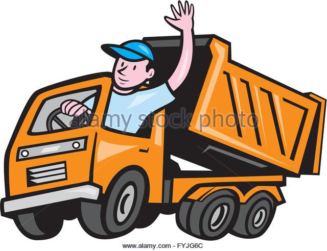 640x492 Cartoon Dump Truck Stock Photos Amp Cartoon Dump Truck Stock Images
