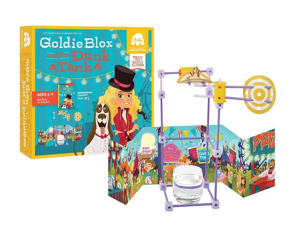 1016x864 Goldieblox And The Dunk Tank Toy Toys Amp Games