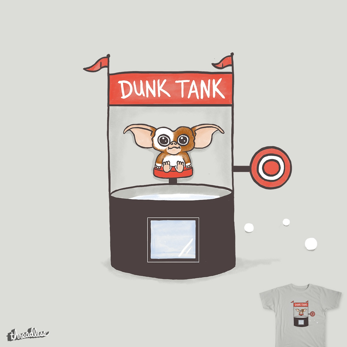1200x1200 Score Dunk Gizmo By Murraymullet On Threadless