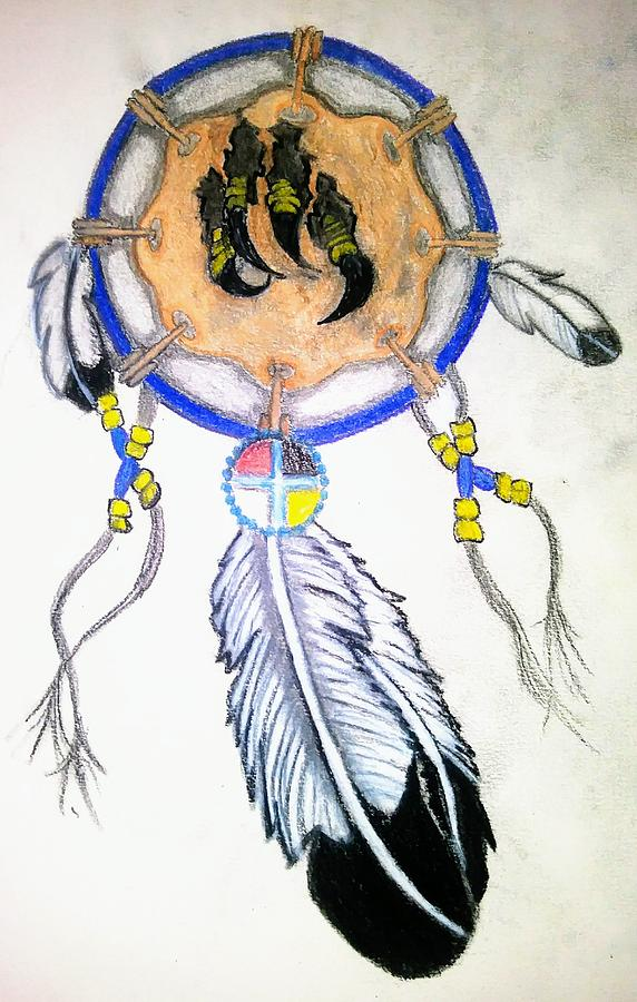 572x900 Eagle Claw Drawing By Elly Mossett