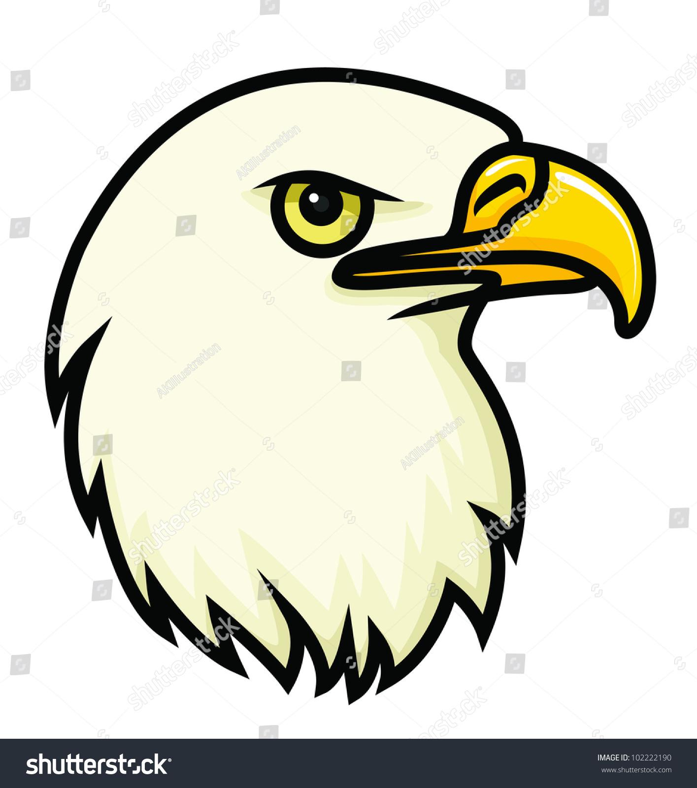 1415x1600 Cartoon Eagle Drawing Cartoon Vector Drawing Bald Eagles Face