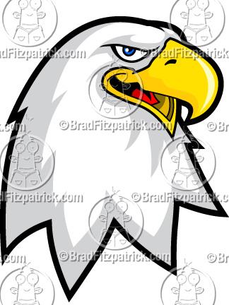 324x432 Eagle Clip Art Eagle Logo Graphics Clipart Eagle Mascot Logo