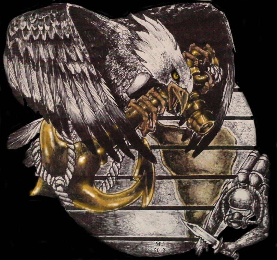 923x865 Eagle Globe Anchor By Mt Pockets