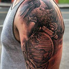 236x236 Usmc Eagle Globe And Anchor Tattoo Tattoosdrawings