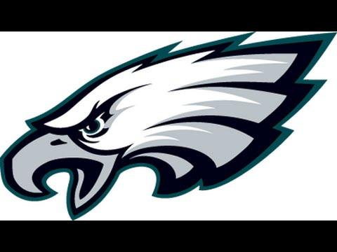 480x360 How To Draw Philadelphia Eagles Logo Retro Old School Philadelphia