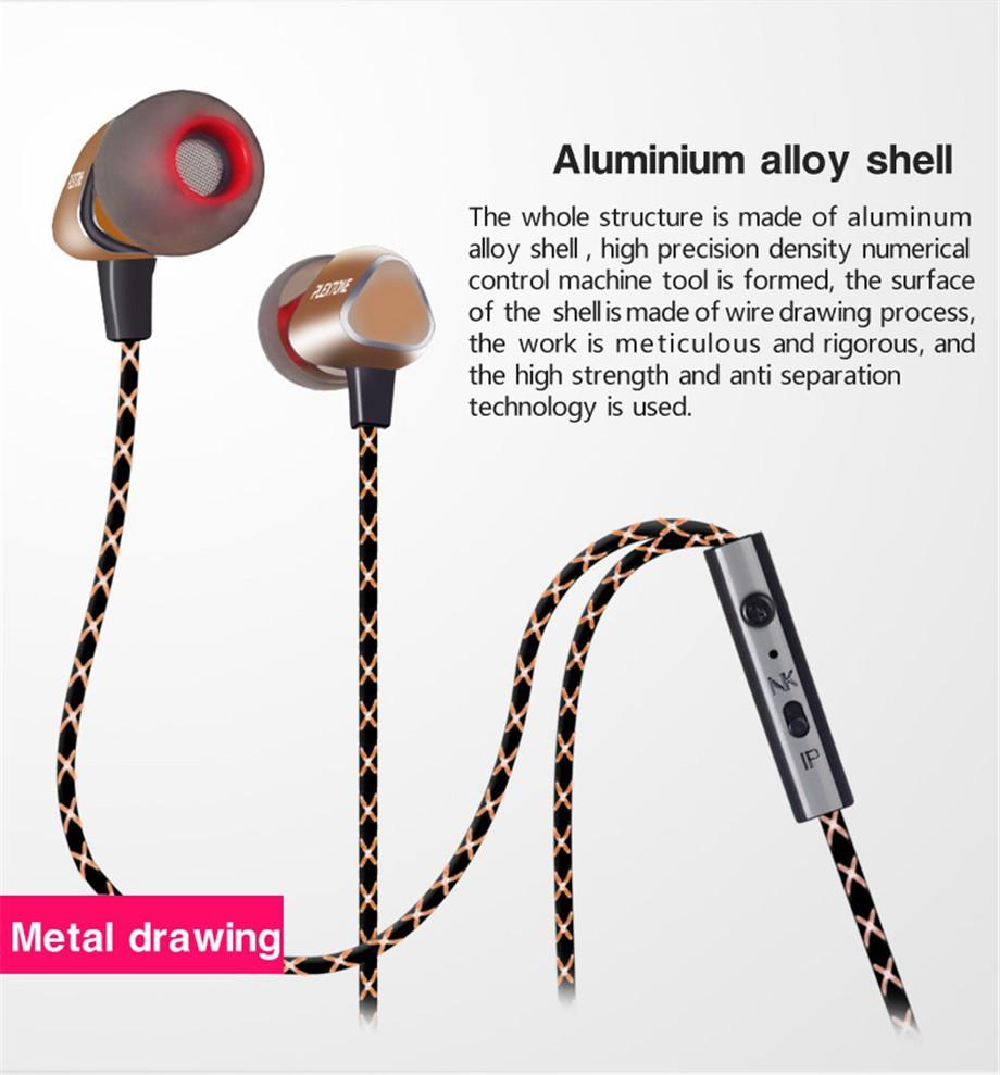 920x989 Qkz X36m Enthusiast Bass Ear Headphones Copper Forging 7mm