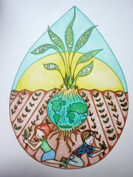 450x600 Earth Day Drawings On Earth Day 2017