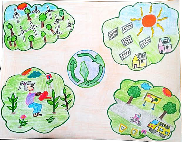 600x468 Planet Aid Earth Day Art Contest Winner 2015 Earth Day